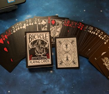 Bicycle Black Tiger Playing Cards